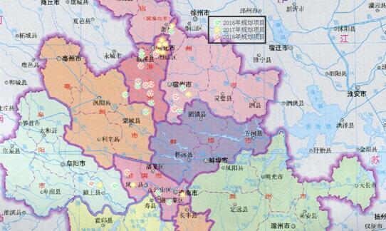 安徽省亳州地图高清版